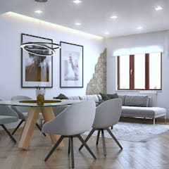 Living room by Santoro Design Render
