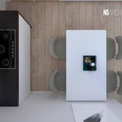 Dapur kecil  by Ns Architect