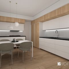 Small kitchens by Ns Architect