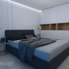 Small bedroom by Ns Architect