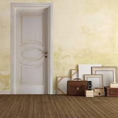 Projekty,  Drzwi wewnętrzne zaprojektowane przez AM PORTE SAS