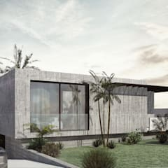 Casa los Sauces. Real Club de Golf de Tenerife.: Casas unifamilares de estilo  de Fernando Miñarro Mena Arquitecto