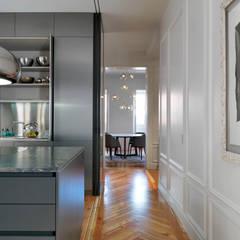 Reforma integral piso SALAMANCA: Cocinas de estilo  de estudio crearte
