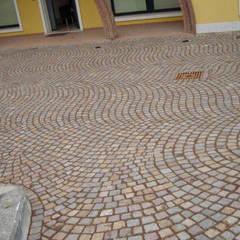 Floors by PORFIDO DEL TRENTINO Consorzio Porfido italia