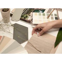 MOODBOARD: Suelos de estilo  de SPACIUS, arquitectura interior