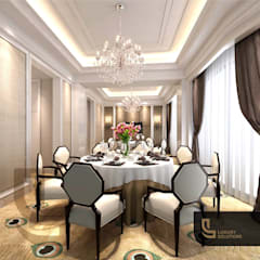 Dining room by Luxury Solutions