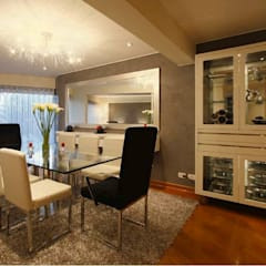 Dining room by Diseño Global by Romi Estrada,