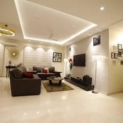 Living room by Rashi Agarwal Designs