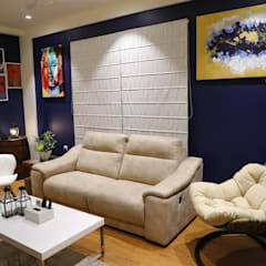 Study/office by Rashi Agarwal Designs,