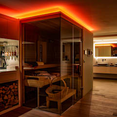 Sauna by Moreno Licht mit Effekt - Lichtplaner