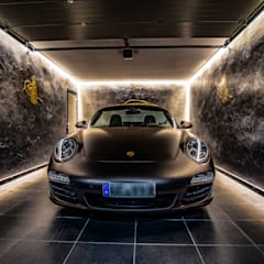 Prefabricated Garage by Moreno Licht mit Effekt - Lichtplaner