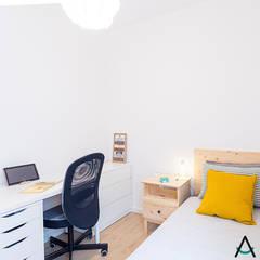 Estudi Aura의  작은 침실