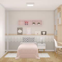 Tric Studio Arquitetura:  tarz Kız çocuk yatak odası