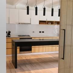 置入式廚房 by German Salas arquitectos