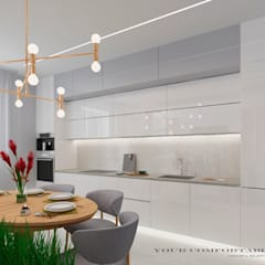 Дизайн-проект современной квартиры: Кухни в . Автор – YOUR COMFORTABLE HOME