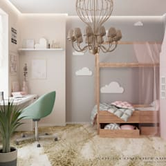 Girls Bedroom by YOUR COMFORTABLE HOME