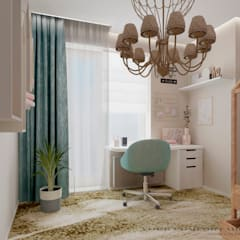 Teen bedroom by YOUR COMFORTABLE HOME