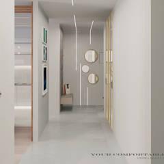 Koridor dan lorong oleh YOUR COMFORTABLE HOME, Mediteran