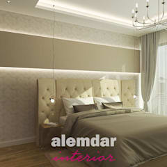 elif alemdar interiorが手掛けた小さな寝室