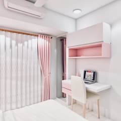 Small bedroom by The 7th Corner - Interior Designer