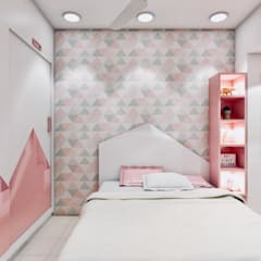 Girls Bedroom by The 7th Corner - Interior Designer,