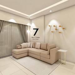 غرفة نوم بنات تنفيذ The 7th Corner - Interior Designer