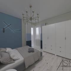 ASN İç Mimarlık  – AnahtarTeslim Tadilat:  tarz Küçük Yatak Odası