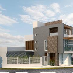 Rumah pasif by Instalaciones Sostenibles SAS