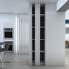 Remodelacion Apto Santa Rosa de Lima: Closets de estilo  por Proyectos C&H C.A