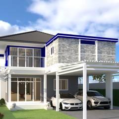 รีโนเวทบ้าน:  บ้านและที่อยู่อาศัย โดย บริษัท พี นัมเบอร์วัน ดีไซน์ แอนด์ คอนสตรัคชั่น จำกัด,