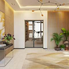 Koridor dan lorong oleh GELA_design, Mediteran Ubin