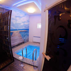 Частная баня: Джакузи в . Автор – Дизайнер Темненко Ольга
