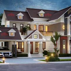 Casas de estilo  por CreoHomes Pvt Ltd