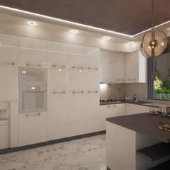 Современная Кухня: Кухонные блоки в . Автор – Дизайнер Темненко Ольга,