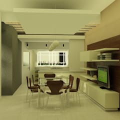 CASA LEVALLE: Cocinas pequeñas de estilo  por viviendas de autor