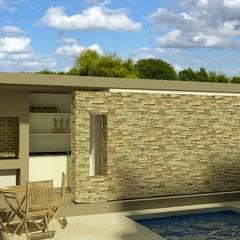 CASA LEVALLE: Casas de estilo  por viviendas de autor