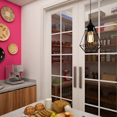 Dapur built in by Citlali Villarreal Interiorismo & Diseño