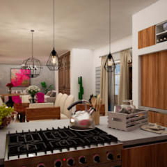Built-in kitchens by Citlali Villarreal Interiorismo & Diseño, Colonial