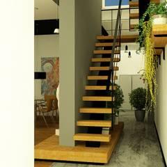 Escaleras de estilo  por viviendas de autor