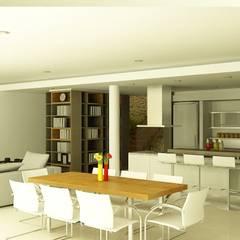 Casa 2 de Mayo Comedores modernos de viviendas de autor Moderno