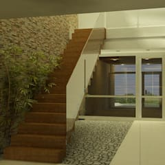 Casa 2 de Mayo de viviendas de autor Moderno Madera Acabado en madera