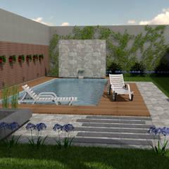Garden Pool by viviendas de autor