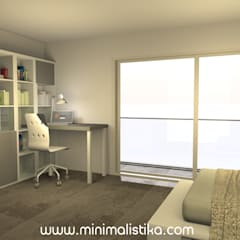 Teen bedroom by Minimalistika.com