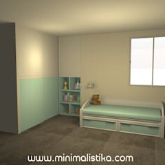 Baby room by Minimalistika.com