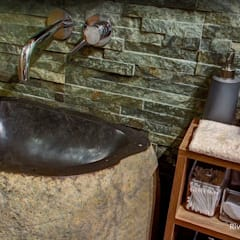Freestanding Stone Sinks :  Bathroom by Lux4home™ Indonesia