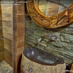 Freestanding Stone Sinks:  Bathroom by Lux4home™ Indonesia