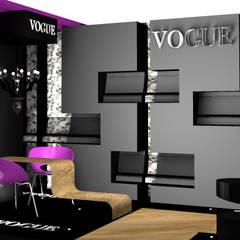 Stand Comercial: Centros de exposições  por Vanessa Corsi
