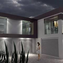 CASA  HORIZONTE: Casas pequeñas de estilo  por A&E Diseño Arquitectonico