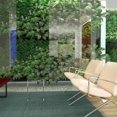 Quinta la Trinidad: Salas / recibidores de estilo  por Proyectos C&H C.A,