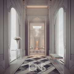 Regal Design Ideas for Palace Hallway:  Corridor & hallway by IONS DESIGN, Classic Marble